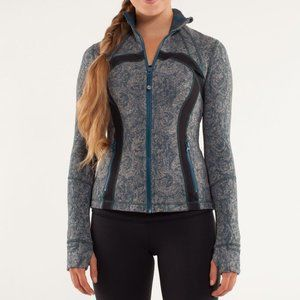 Lululemon Alberta Lake Rose Brushed Define Jacket